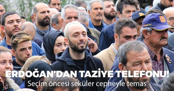 Erdoğan'dan Mabel Matiz'e taziye telefonu
