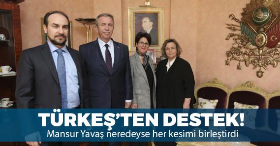 Alparslan Türkeş'in eşi Seval Türkeş'ten Mansur Yavaş'a destek