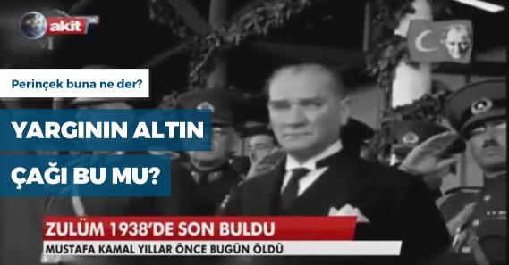 """Akit'in """"Atatürk'ün hatırasına alenen hakaret"""" davasında beraat"""