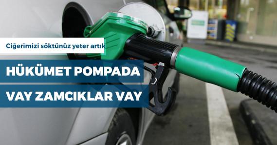 Hükümet benzine yine zam yapacak
