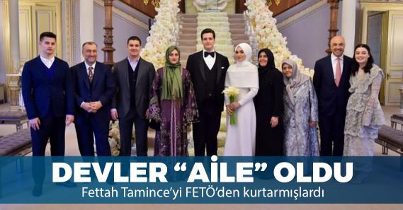 Murat Ülker ve Fettah Tamince'nin çocukları evlendi