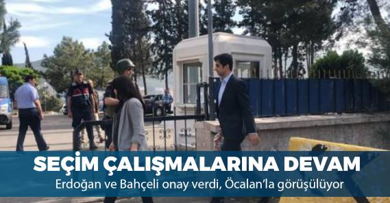 Terör örgütü PKK'nın elebaşı Öcalan'ın avukatları bugün İmralı'ya gitti