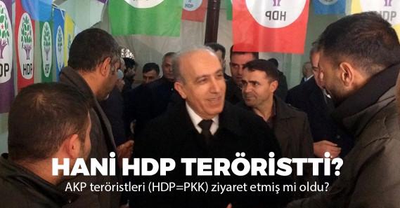 AKP'den HDP'ye dikkat çeken ziyaret!