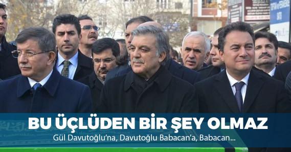 """Yeni Şafak yazarı: """"Davutoğlu'nun oluşumu Gül ve ekibiyle köprüleri iyice atmış"""""""