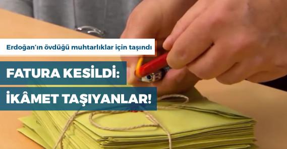 AKP faturayı muhtarlık için memleketlerine dönen vatandaşa kesti