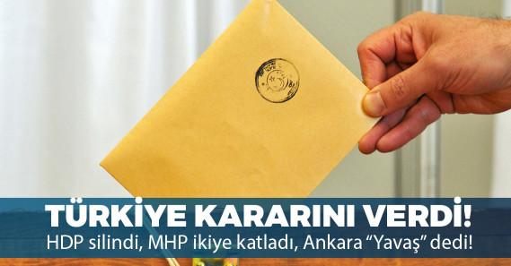 Türkiye seçimini yaptı: İşte seçim sonuçları!