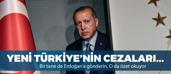 """Erdoğan'a hakaret iddiasına, """"Erdoğan'ın hayatını oku, özetini çıkar"""" cezası"""