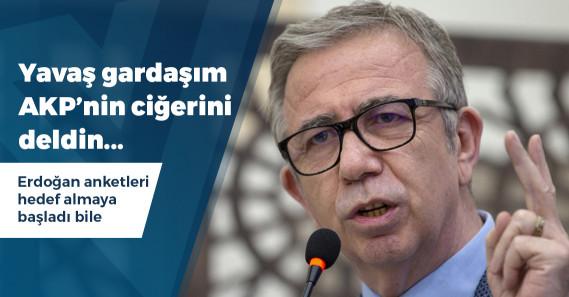 AKP'ye yakın üç anket firması da Mansur Yavaş dedi