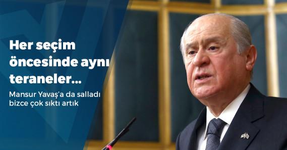 """Bahçeli: """"MHP idamın tekrar getirilmesi açısından olumlu oy kullanır"""""""