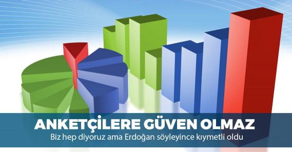 Erdoğan'ın hedef gösterdiği anketçiler kendilerini nasıl savundu?