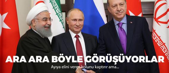 Soçi'de kritik Suriye zirvesi