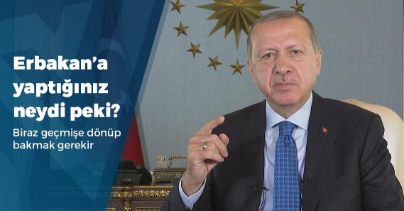 """Erdoğan: """"Biz dava adamıysak davana ihanetin olamaması lazım"""""""