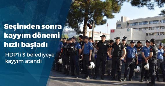 HDP'li 3 büyükşehir belediye başkanı görevden uzaklaştırıldı
