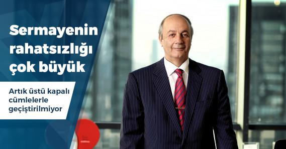 """TÜSİAK YİK Başkanı Özilhan: """"Ekonominin düzelmesi için hukuk ve adalet sisteminin düzelmesi gerekiyor"""""""