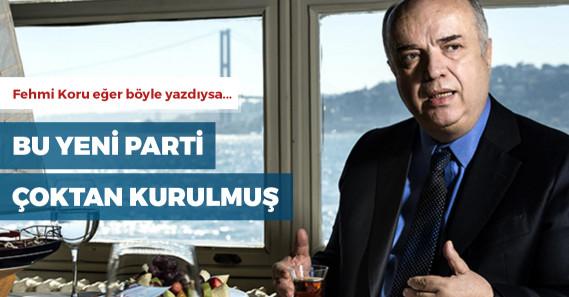 """Fehmi Koru: """"Yeni bir parti AKP için yararlı olur"""""""