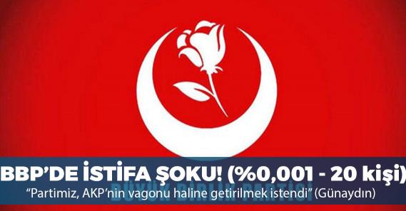 BBP'de Çankırı İl Yönetimi istifa etti