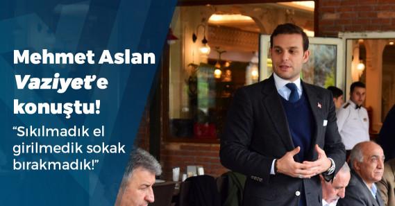 """Mehmet Aslan: """"Yolumuzu çeviriyorlar ve 'AK Partiliyim ama bu sefer vermeyeceğim' diyorlar"""""""