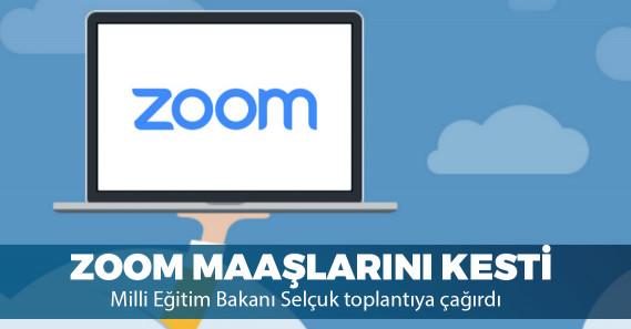 Türkiye'de Zoom kullanan öğretmenlerin maaş hesaplarından 58,5 Dolar kesildi