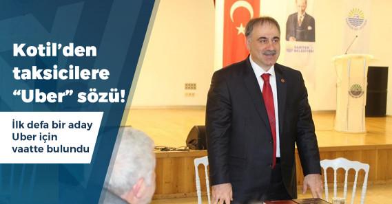 """BTP'nin İstanbul adayı Kotil: """"Uber'i yasaklayacağız"""""""