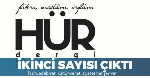 Hür Dergi'nin son sayısı çıktı