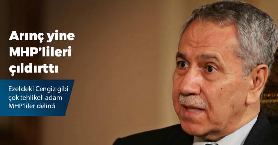 MHP'liler Bülent Arınç'ın sözlerine tepki gösterdi, salonu terk etti!