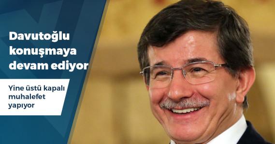 """Davutoğlu: """"İktidar kaybedilir yeniden kazanılır, konuşmaktan korkmayın"""""""