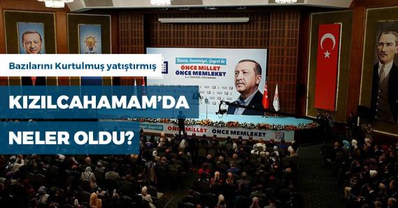 AKP'nin Kızılcahamam'daki toplantısında neler yaşandı?