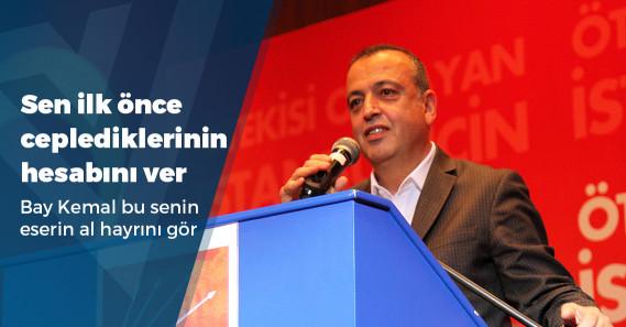 """CHP'li İlgezdi: """"40 senedir iktidar olamıyorsak, önce kendimizi eleştirmeliyiz"""""""