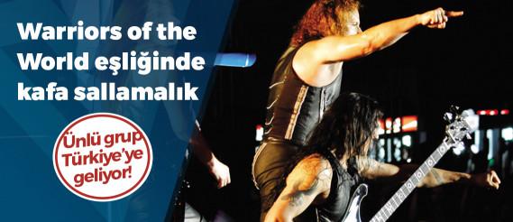 Efsanevi grup Manowar veda turnesiyle İstanbul'a geliyor!