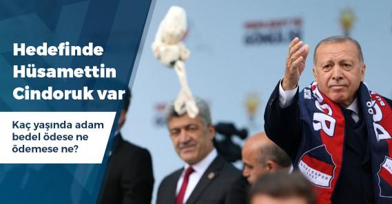 """Erdoğan'dan Cindoruk'a: """"Bedelini ödeyecek"""""""