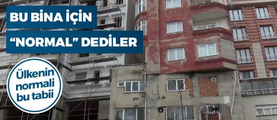 Belediye, Bağcılar'daki o binayla ilgili olumsuz bir durum göremedi