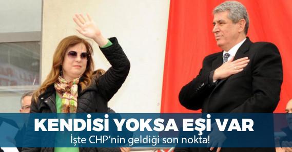 YSK CHP'li ismin adaylığını düşürdü, yeni aday eşi oldu!