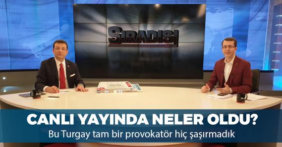 Ekrem İmamoğlu ile Turgay Güler arasında canlı yayında tartışma