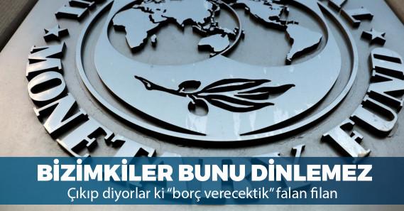 """IMF'den Türkiye'ye """"önlem"""" çağrısı"""