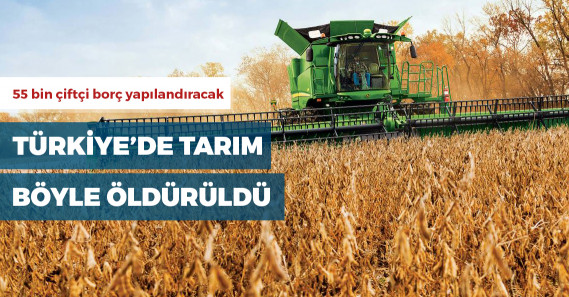 Çiftçinin borcu 190 kat arttı