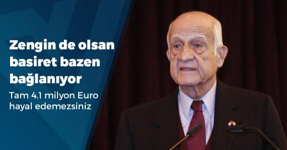 İnan Kıraç, 4.1 milyon Euro dolandırıldı