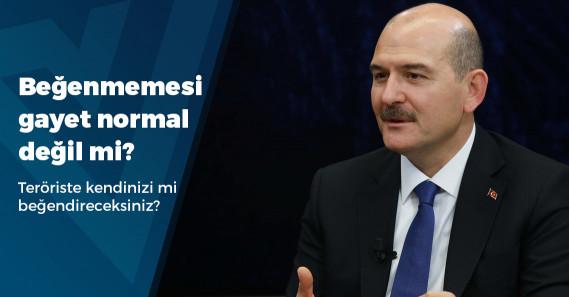 """Soylu: """"Murat Karayılan beni beğenmiyor, 'böyle İçişleri Bakanı mı olur?' diyor"""""""