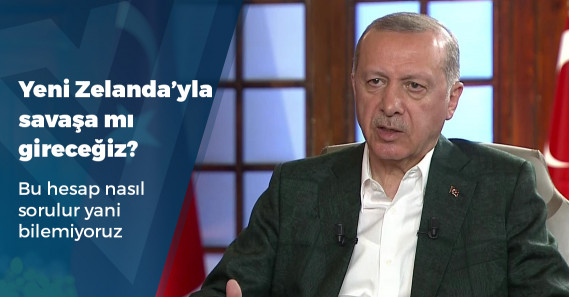 """Erdoğan: """"Bunun hesabını Yeni Zelanda sormazsa biz sormasını biliriz"""""""