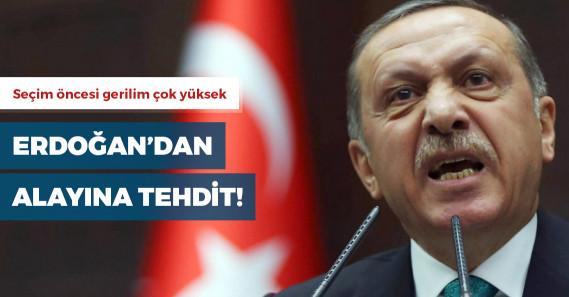 """Erdoğan'dan Akşener'e: """"Bunlar senin iyi günlerin"""""""