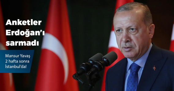 """""""Erdoğan'a sunulan ankette İmamoğlu, Yıldırım'ın 3 puan önünde"""""""