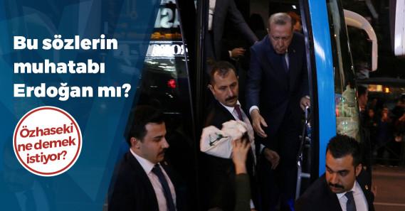 """Mehmet Özhaseki: """"'Çay dağıtırım' demek halkı kandırmak olur; bu, popülizmdir"""""""