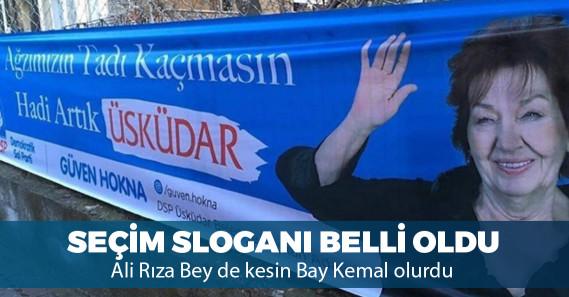 """Güven Hokna'nın seçim sloganı: """"Ağzımızın tadı kaçmasın"""""""