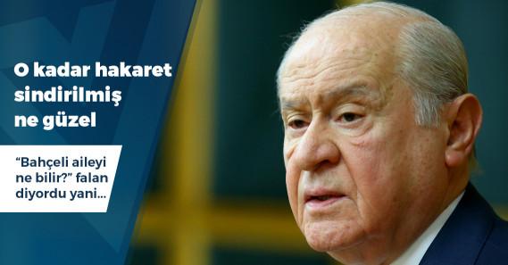 """Bahçeli'den Erdoğan açıklaması: """"Şu an kanka halindeyiz"""""""