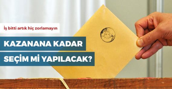 İstanbul seçimleri yenilenebilir mi?