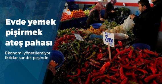 Türkiye'de evde yemek yapmak 10 yılda ne kadar pahalandı?