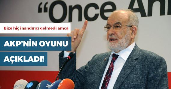 Karamollaoğlu, AKP'nin oy oranını açıkladı