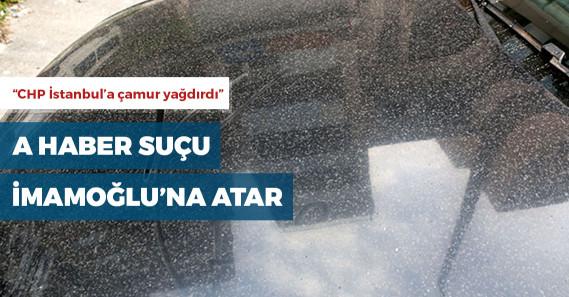 İstanbul'a toz taşınımından dolayı çamur yağdı