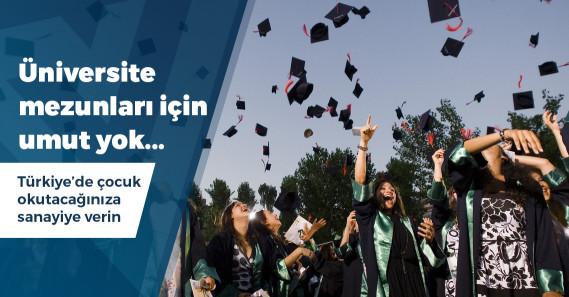 Üniversite mezunu işsiz sayısı rekora koşuyor