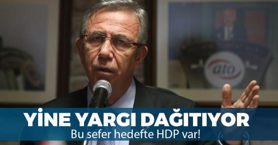"""""""Seçilirse HDP oylarıyla seçilir"""" diyen Sezai Temelli'ye Mansur Yavaş'tan cevap!"""
