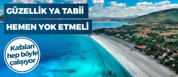 """Erdoğan'dan """"Salda Gölü"""" açıklaması"""